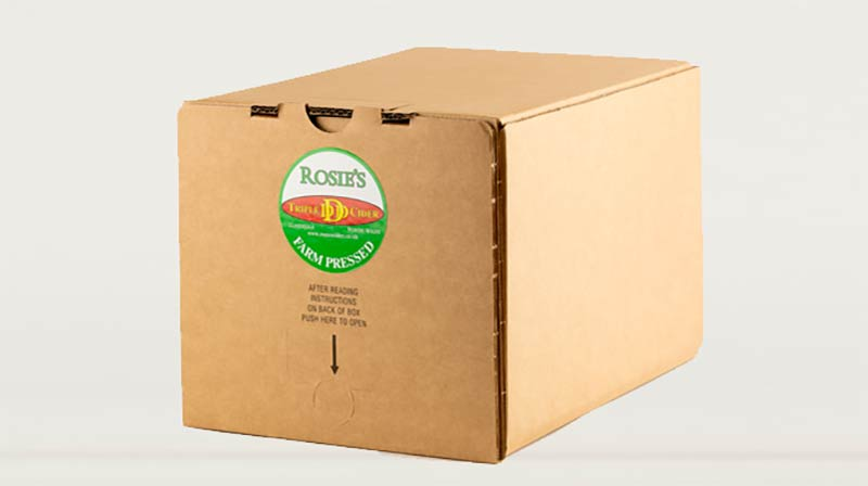 Bag In Box Cider