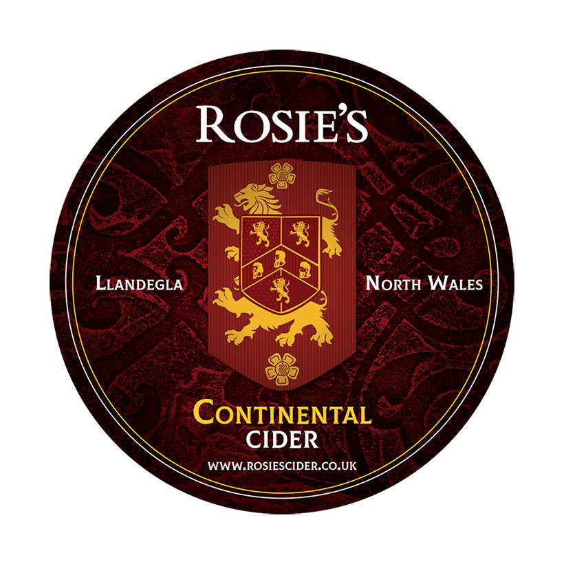 Rosie's Continental Cider Bag In Box